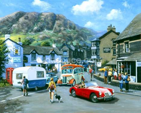 Happy Days Lake District Wallpaper Wall Murals