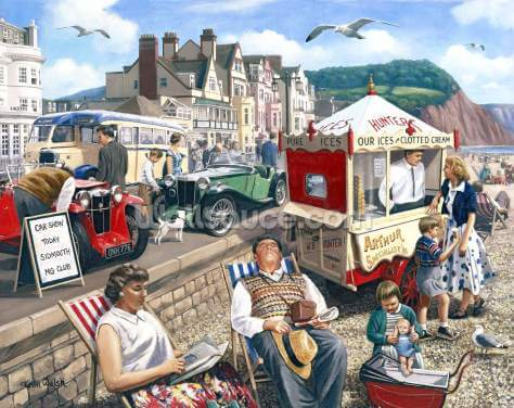 Happy Days Sidmouth Wallpaper Wall Murals