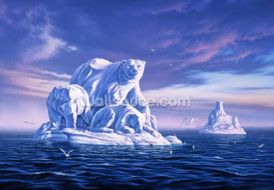 Icebeargs Wallpaper Wall Murals