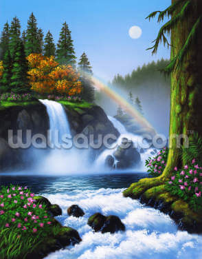 Waterfall by Jerry LoFaro Wallpaper Wall Murals