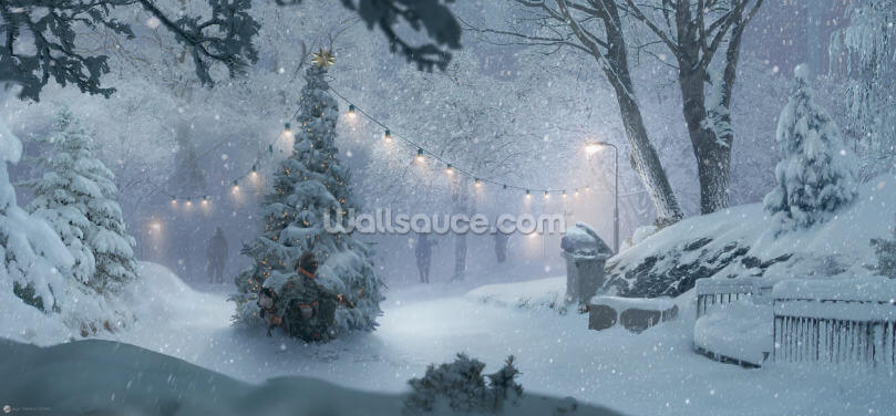 Winter Recon Wallpaper Wall Murals