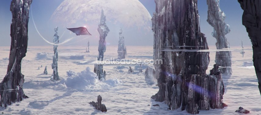 Spire Planet Wallpaper Wall Murals
