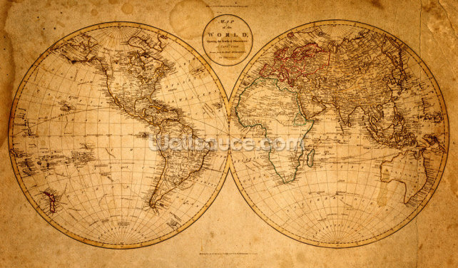 Old map 1799 Wallpaper Wall Murals