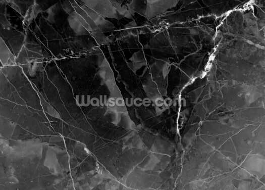 Marble - Charcoal Wallpaper Wall Murals
