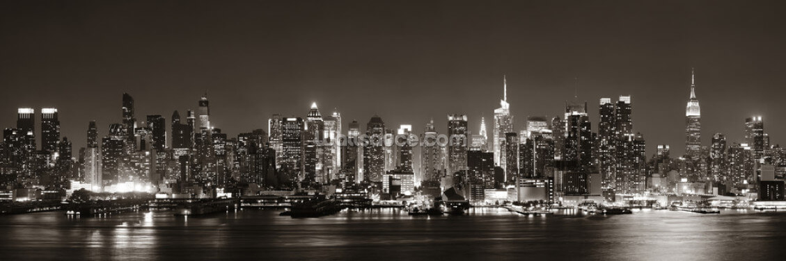 Midtown Manhattan skyline Wallpaper Wall Murals