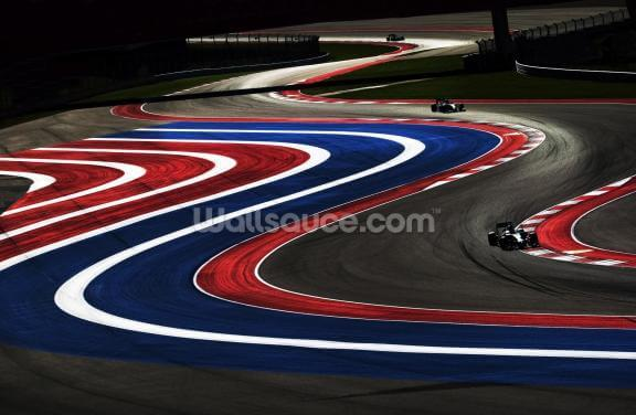 Turn 2,3,4 and 5 USA 2014 Wallpaper Wall Murals