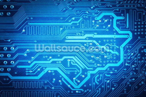 Circuit Board Wallpaper Wall Murals