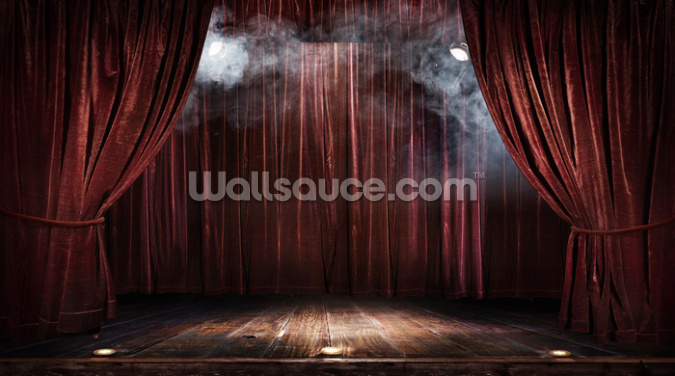 Magic Theater Stage Wallpaper Wall Murals