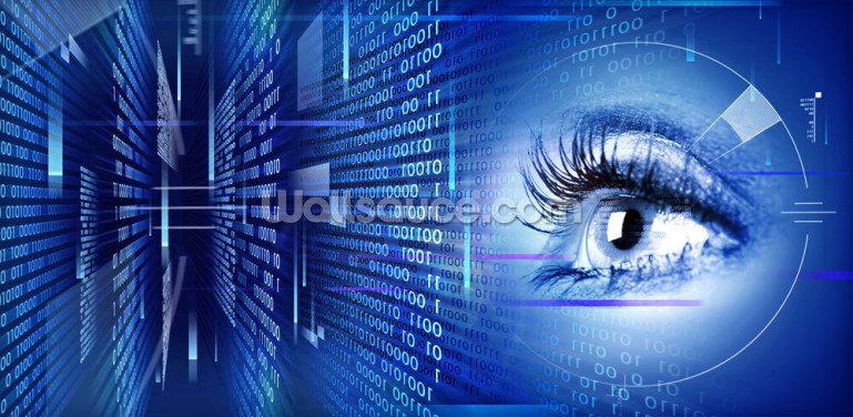 Eye on Technology Wallpaper Wall Murals