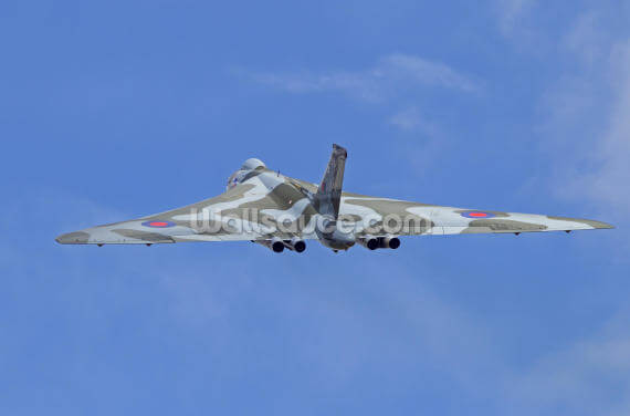 Avro Vulcan Bomber Rear View Wallpaper Wall Murals