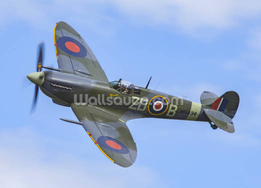 Supermarine Spitfire Mk IX Wallpaper Wall Murals
