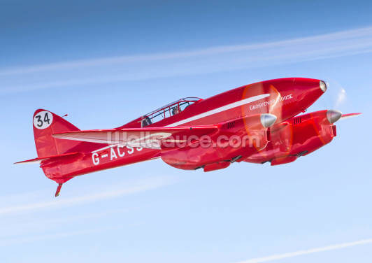 De Havilland DH88 Comet Racer Wallpaper Wall Murals