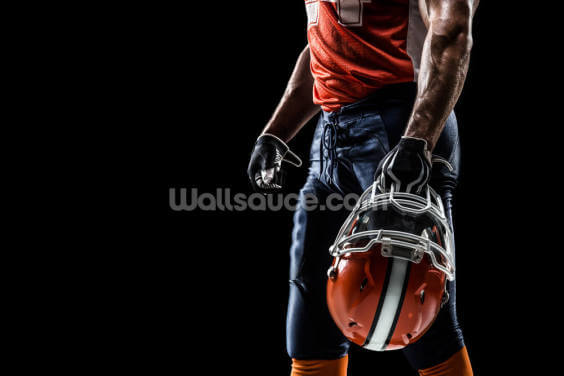 American Football Sportsman Wallpaper Wall Murals