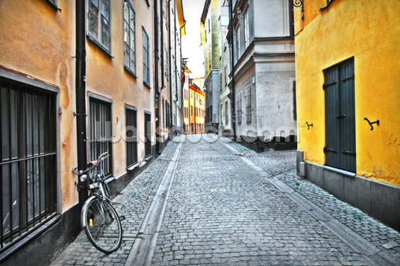 Old Town Stockholm Wallpaper Wall Murals