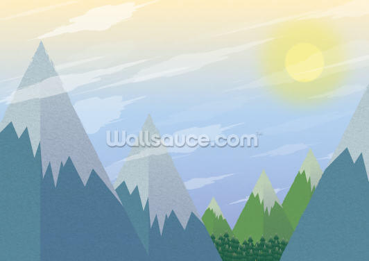 Winter Landscape Wallpaper Wall Murals
