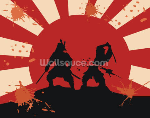 Samurai Wallpaper Wall Murals
