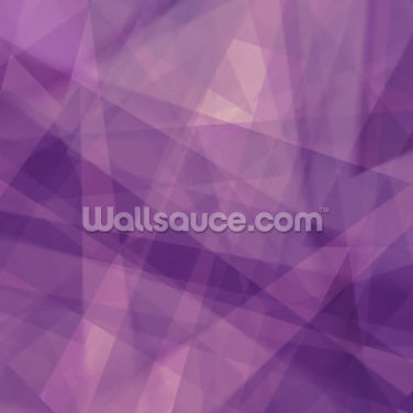 Abstract Purple Geometric Wallpaper Wall Murals