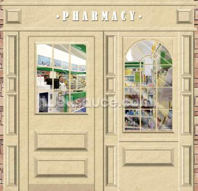 Pharmacy Wallpaper Wall Murals
