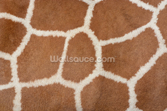 Giraffe Print Wallpaper Wall Murals