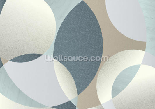 Neutral Swirls Wallpaper Wall Murals