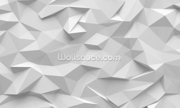 Polygon Wallpaper Wall Murals