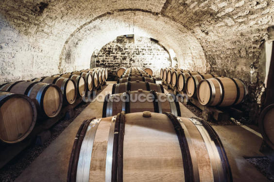 Wine Barrels Wallpaper Wall Murals