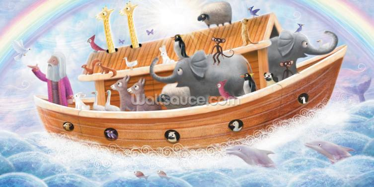 Noah's Ark - Patrick Brookes Wallpaper Wall Murals