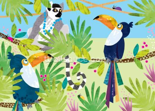 Toucans Wallpaper Wall Murals