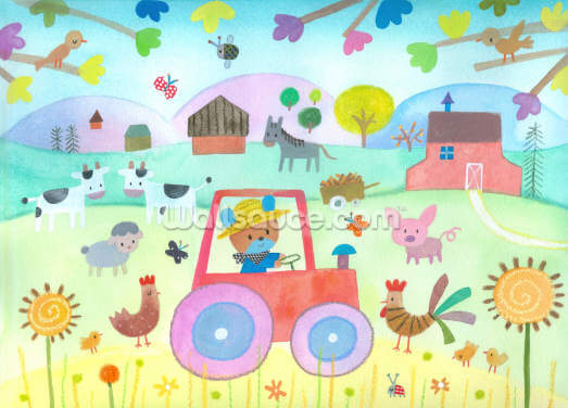 Farm Wallpaper Wall Murals