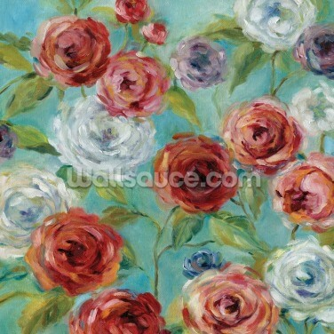 Roses Are Red Wallpaper Wall Murals