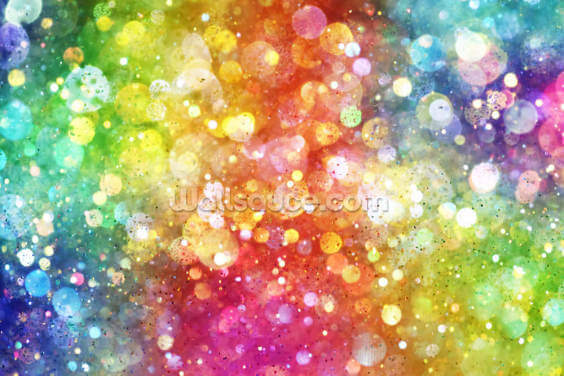 Rainbow of Lights Wallpaper Wall Murals