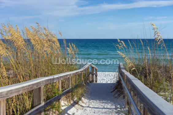 Boardwalk Wallpaper Wall Murals