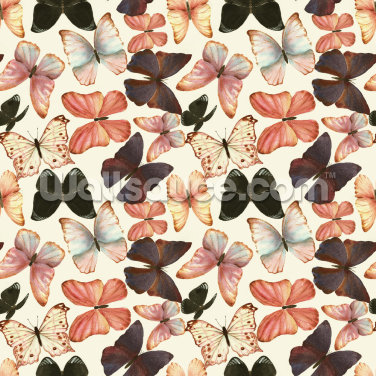 Colorful Watercolor Butterflies Wallpaper Wall Murals
