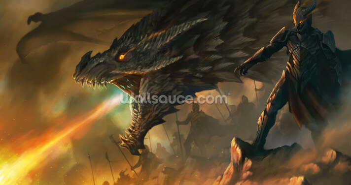 Dragon Master Wallpaper Wall Murals
