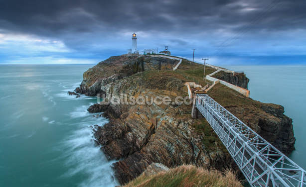 Southstack Lighthouse Wallpaper Wall Murals