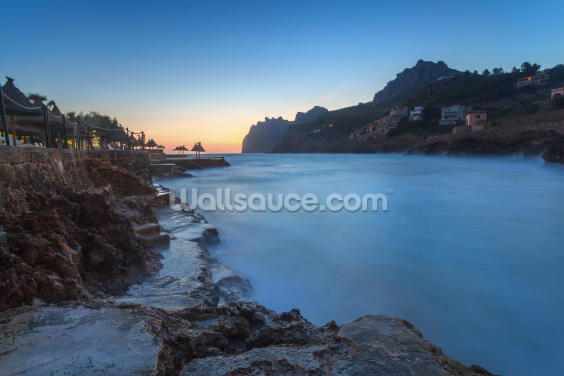 Cala San Vincente Sunrise Wallpaper Wall Murals