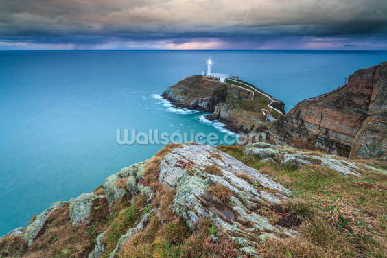 Southstack Approaching Storm Wallpaper Wall Murals