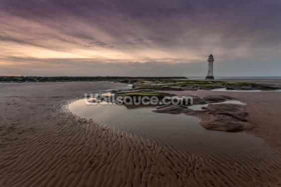 New Brighton Lighthouse Wallpaper Wall Murals