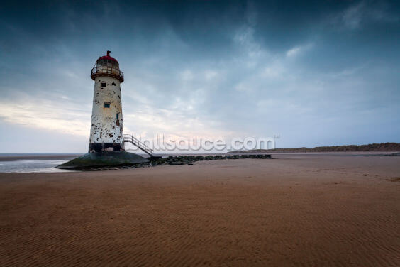 Talacre Lighthouse Wallpaper Wall Murals