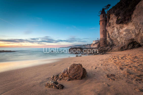 Laguna Beach Pirate Tower Wallpaper Wall Murals