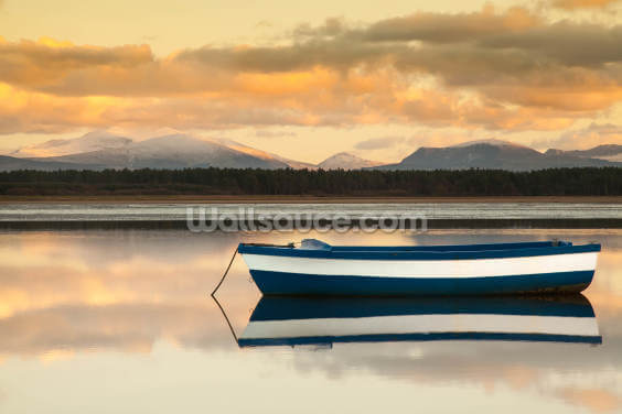 Calm of the Lake Wallpaper Wall Murals