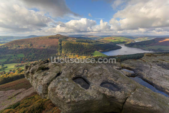 Bamford Edge Views Wallpaper Wall Murals