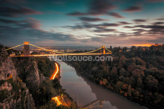 Bristol Clifton Suspension Bridge Wallpaper Wall Murals