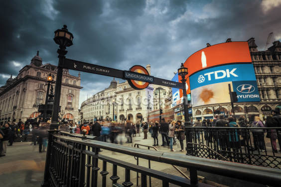 Piccadilly Circus London Wallpaper Wall Murals