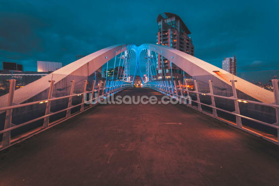 Salford Quays Bridge Wallpaper Wall Murals