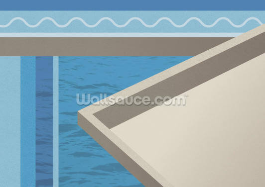 The Water Below Wallpaper Wall Murals