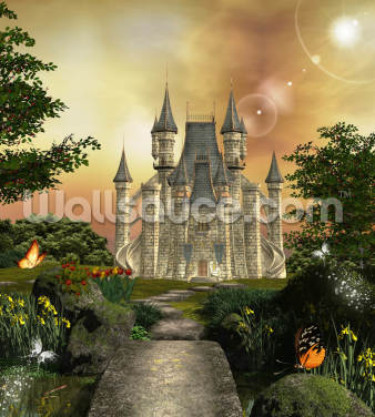 Fairy Fortress Wallpaper Wall Murals