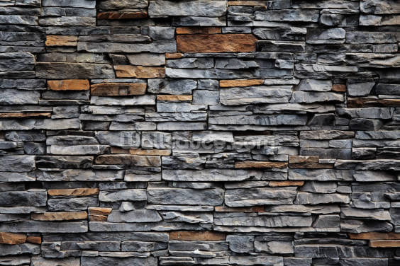 Blue and Brown Stone Wallpaper Wall Murals