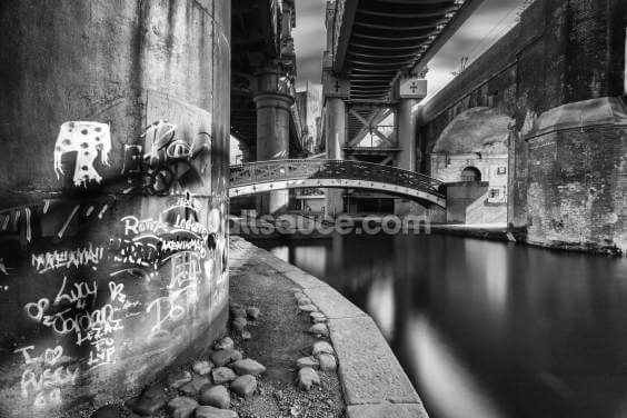 Castlefield Ironworks Wallpaper Wall Murals