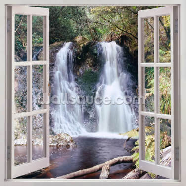 Hogarth Falls Window Wallpaper Wall Murals
